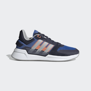 Tênis Run 90s Blue / Grey Two / Semi Coral EF0589