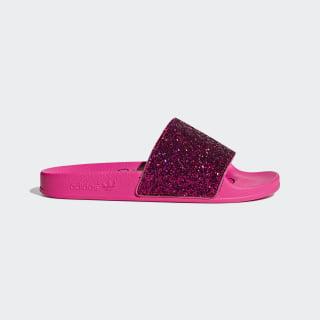 Шлепанцы Adilette shock pink / shock pink / core black DB1216