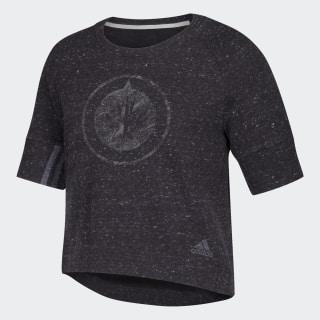 Sweat-shirt Jets Sport 2 Street Nhl-Wje-5j2 / Black Melange DP8220