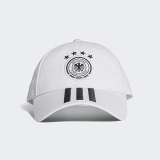 Gorra 3 Tiras Selección de Alemania 2018 WHITE/BLACK CF4928