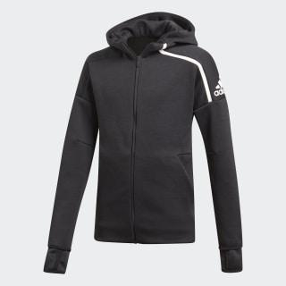 Худи adidas Z.N.E. Fast Release zne htr/black / white DJ1374