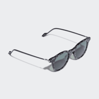 AOK002 Sunglasses Grey / Silver Metallic / Collegiate Green CK4110