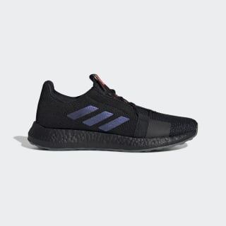 Zapatillas para correr Senseboost GO Core Black / Boost Blue Violet Met. / Legend Ink EF0709