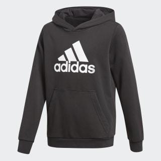 f1f9991309b Blusa Moletom Yb Logo Hood - Preto adidas