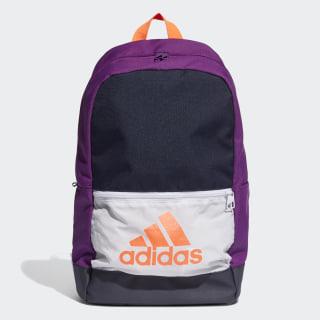 Classic Badge of Sport Backpack Legend Ink / Glory Purple / Signal Coral FJ9256