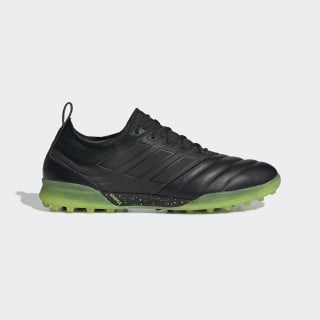 Copa 19.1 Turf Shoes Core Black / Core Black / Solar Yellow AC8206