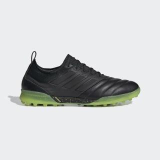 Zapatos de Fútbol Copa 19.1 Césped Artificial Core Black / Core Black / Solar Yellow AC8206