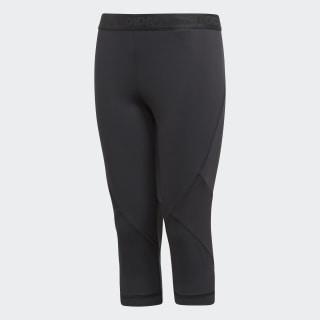 Alphaskin Sport 3/4 Leggings Black CF7210
