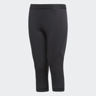 Alphaskin Sports 3/4 tights Black CF7210