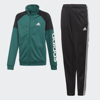 Linear Trainingsanzug Noble Green / Black / White DI0183