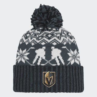 Golden Knights Ugly Sweater Cuffed Pom Beanie Nhl-Lvs-5vd CY4123