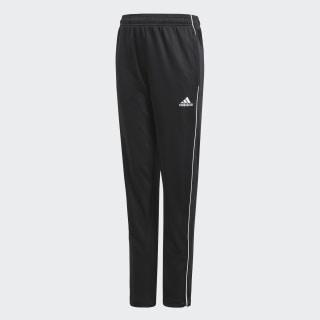 Core 18 Training Pants Black / White CE9034