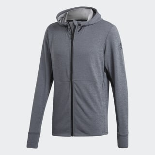 Cheap Exclusive Adidas Climacool Textured Hoodie Grey