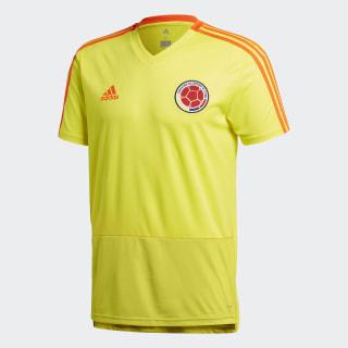 Camiseta de Entrenamiento Selección Colombia Bright Yellow / Solar Red CE6641