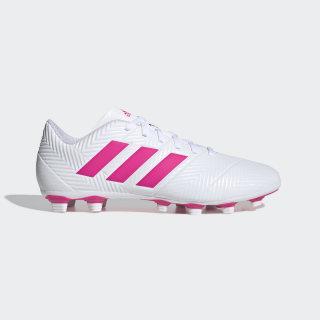 Calzado de Fútbol Nemeziz 18.4 Multiterreno ftwr white / shock pink / ftwr white D97990