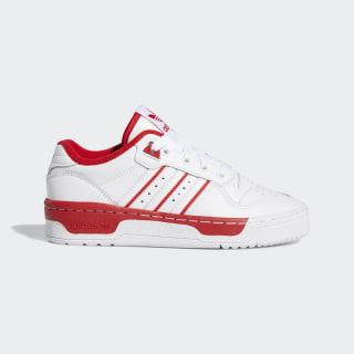 Tenis RIVALRY LOW J ftwr white/ftwr white/scarlet EE5936