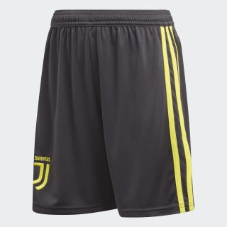Juventus Youth tredjeshorts Carbon / Shock Yellow CF3508