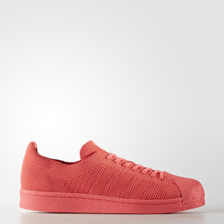 Superstar Boost Shoes Easy Coral/Easy Coral/Footwear White BZ0128