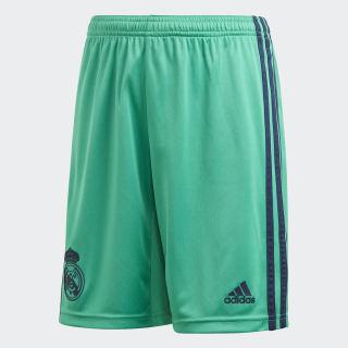Terceiros Calções do Real Madrid Core Green DX8924
