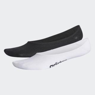Calcetines Prepack N Patrn 2 Pares L S black/white CV4386