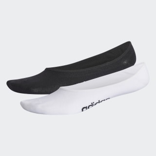 Meias Colorblock Liner 2 Pares Black / White CV4386