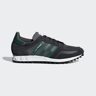 Scarpe LA Trainer Carbon / Collegiate Green / Grey Five B37830