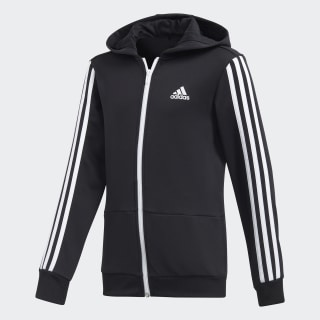 Training Gear Up Full Zip Hoodie Black/White/White CE5877