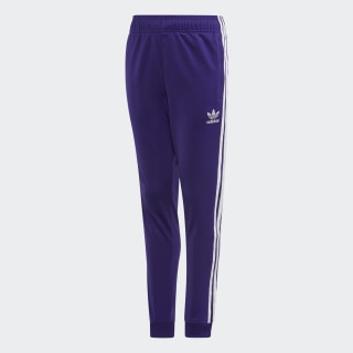 SST Tracksuit Bottoms Collegiate Purple / White EI9887