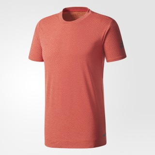 Climachill Speed Stripes FreeLift Tee Chill Coral Red / Scarlet BR4149