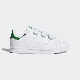 Stan Smith Shoes Cloud White / Cloud White / Green M20607