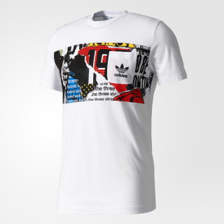 Playera Graphic Pocket WHITE BQ3033