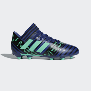 Zapatos de Fútbol Nemeziz Messi 17.3 Terreno Firme UNITY INK F16/HI-RES GREEN S18/CORE BLACK CP9176