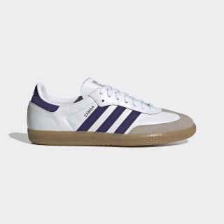 Samba OG Shoes Cloud White / Collegiate Purple / Soft Vision EE5452
