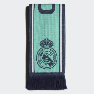 Real Madrid Sjaal Hi-Res Green / Night Indigo / White DY7708