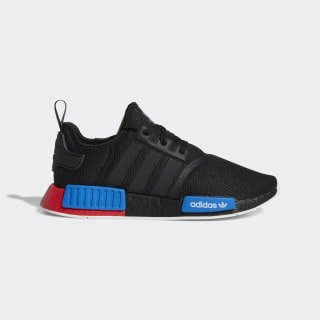NMD_R1 Shoes Core Black / Core Black / Lush Red FX4355