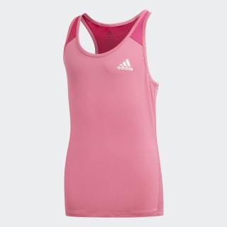 Logo Tank Top Semi Solar Pink / Real Magenta / White DV2754