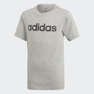 Essentials Linear Logo T-Shirt Medium Grey Heather / Black DV1816