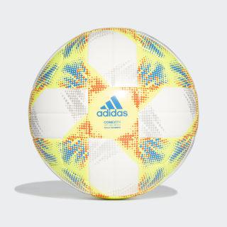 Bola de Treino Conext 19 Sala White / Solar Yellow / Solar Red / Football Blue DN8739