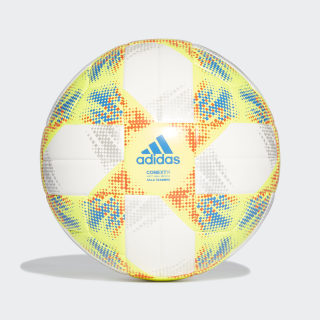 Conext 19 Sala Training Ball White / Solar Yellow / Solar Red / Football Blue DN8739