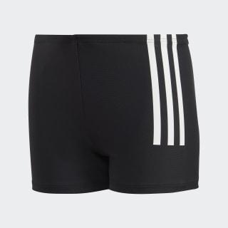 Boxer de natation Back-To-School 3-Stripes Black / White DL8872