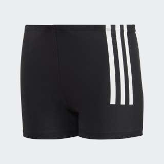Short da nuoto Back-to-School 3-Stripes Black / White DL8872