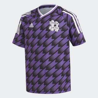 Camiseta segunda equipación #United Black / Active Purple FM5492