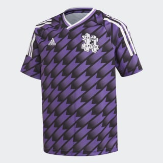 Maillot #United Extérieur Black / Active Purple FM5492