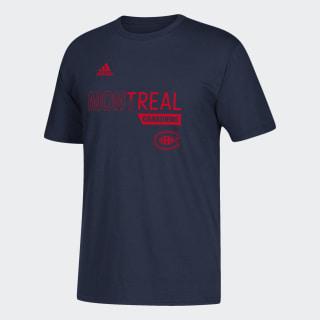 T-shirt Canadiens Locker Division Nhl-Mca-508 / Dark Navy DX2875