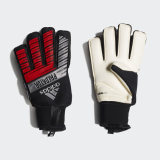 Predator Ultimate Gloves Black / Silver Met. / Hi-Res Red DY2592