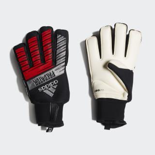 Predator Ultimate Goalkeeper Gloves Black / Silver Met. / Hi-Res Red DY2592
