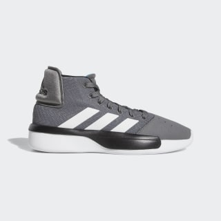 Pro Adversary 2019 Shoes Grey / Cloud White / Shock Cyan BB9190