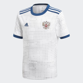 Гостевая игровая футболка сборной России white BR9069