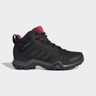 Terrex AX3 Mid GORE-TEX Hiking Shoes Black / Core Black / Active Pink BC0590