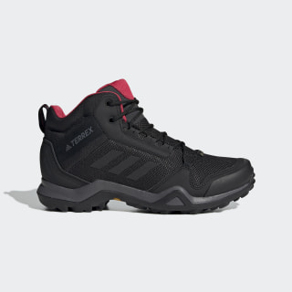 Terrex AX3 Mid GTX Shoes Black / Core Black / Active Pink BC0590